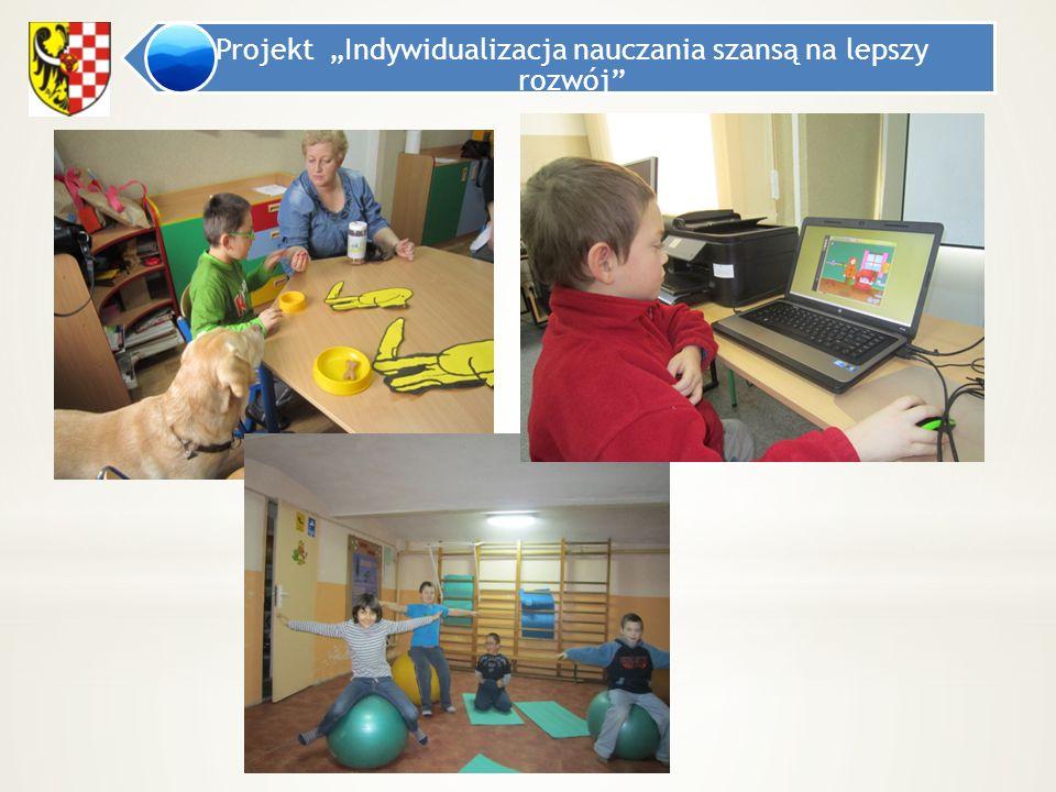 """Projekt """"Indywidualizacja nauczania szansą na lepszy rozwój"""