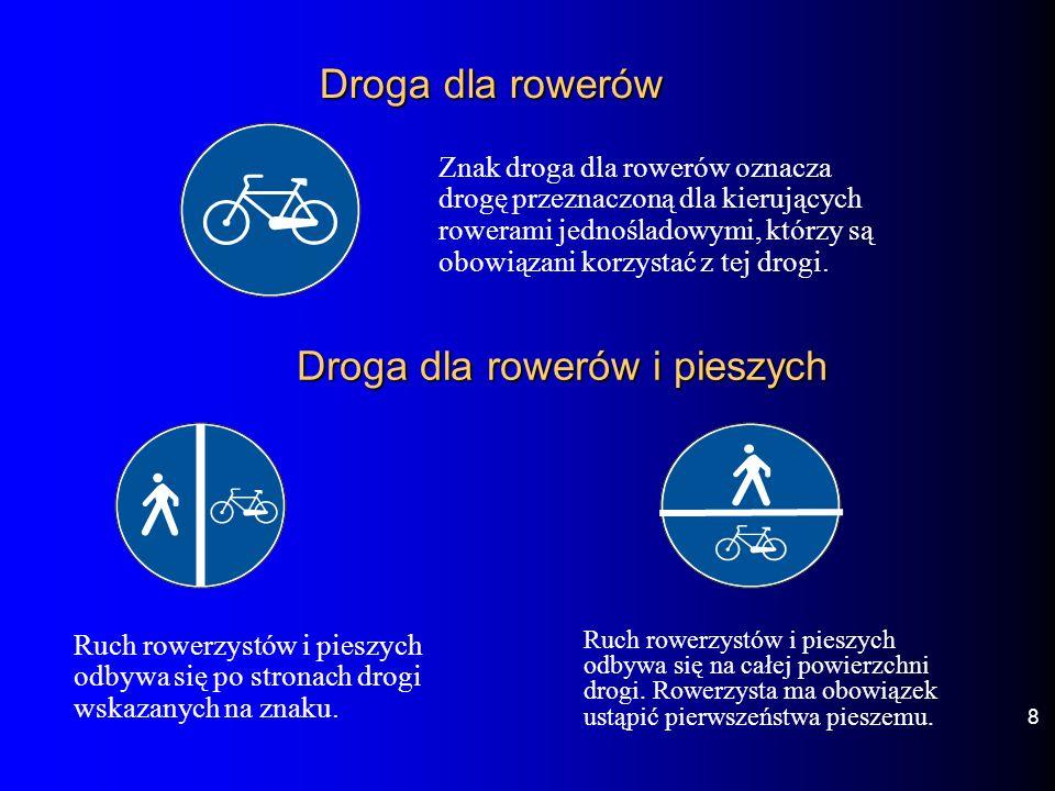 Droga dla rowerów i pieszych