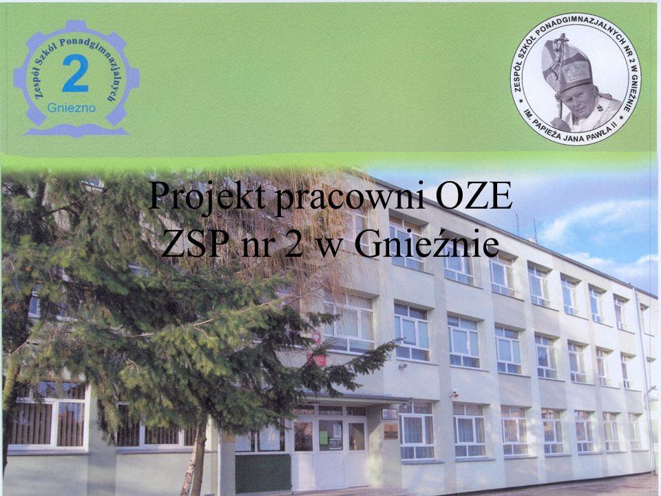 Projekt pracowni OZE ZSP nr 2 w Gnieźnie