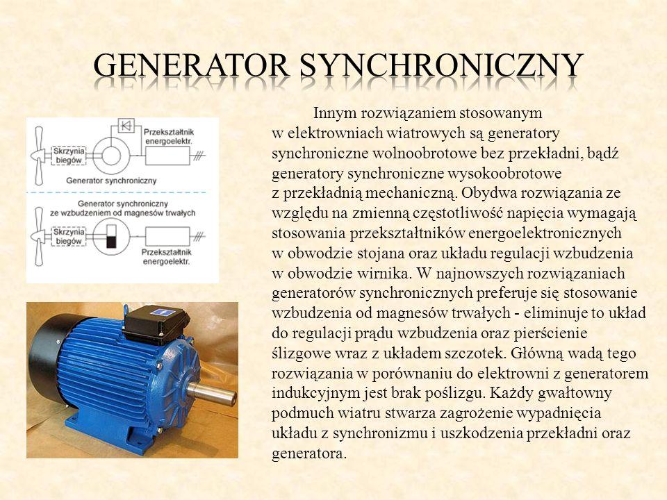 Generator synchroniczny