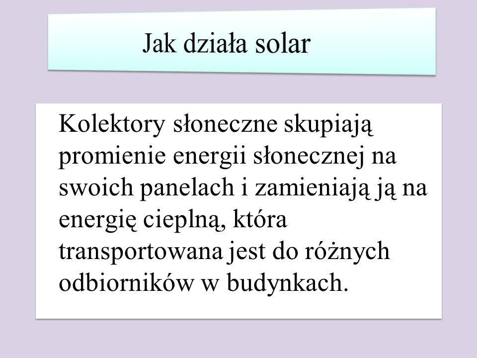 Jak działa solar
