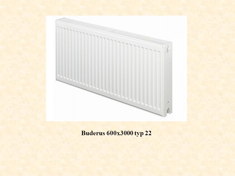 Buderus 600x3000 typ 22