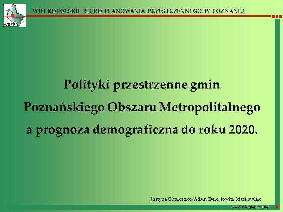 Polityki przestrzenne gmin Poznańskiego Obszaru Metropolitalnego
