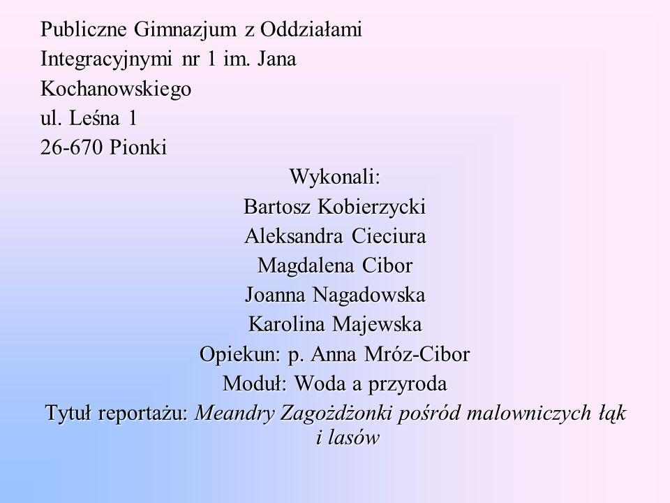 Publiczne Gimnazjum z Oddziałami Integracyjnymi nr 1 im. Jana