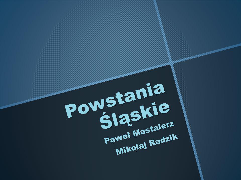 Paweł Mastalerz Mikołaj Radzik