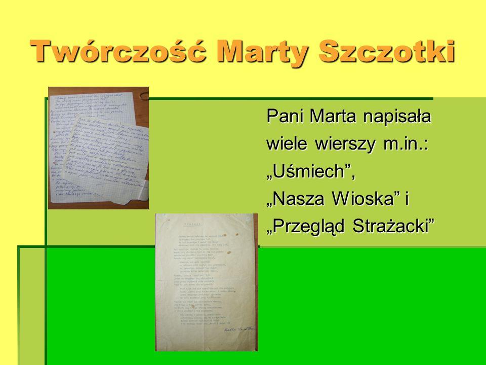 Twórczość Marty Szczotki