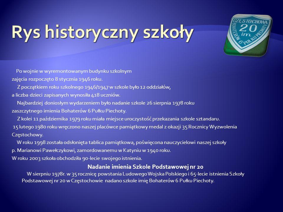 Rys historyczny szkoły