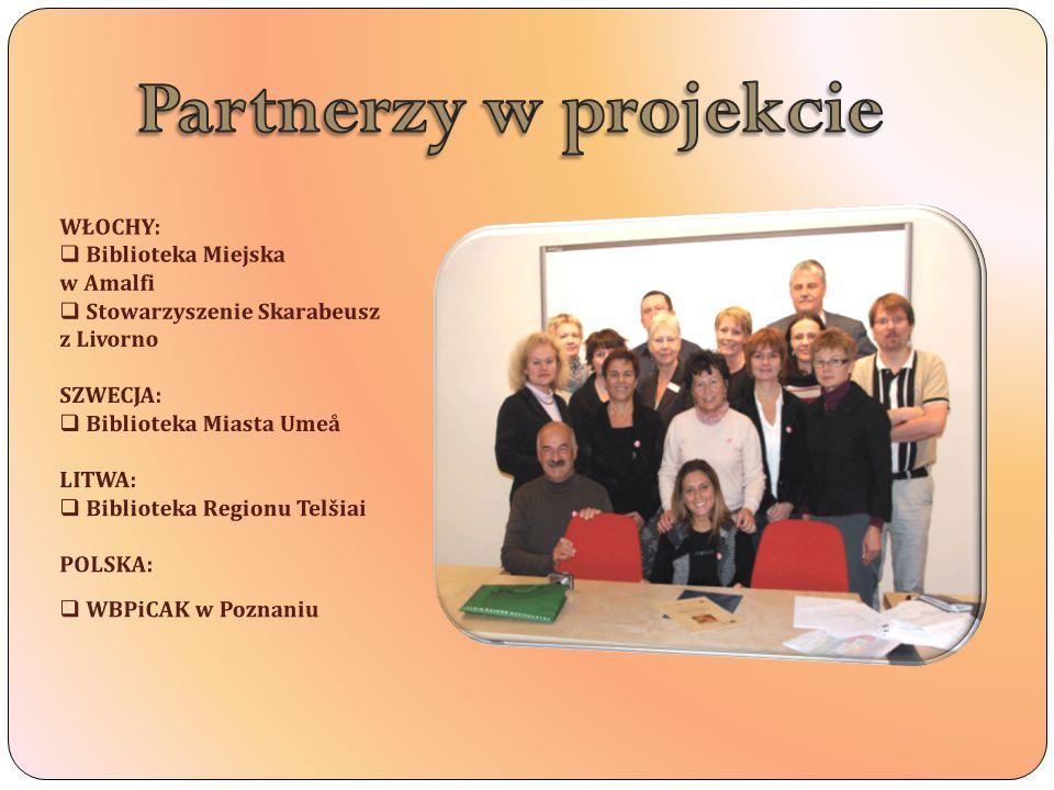 Partnerzy w projekcie WŁOCHY: Biblioteka Miejska w Amalfi