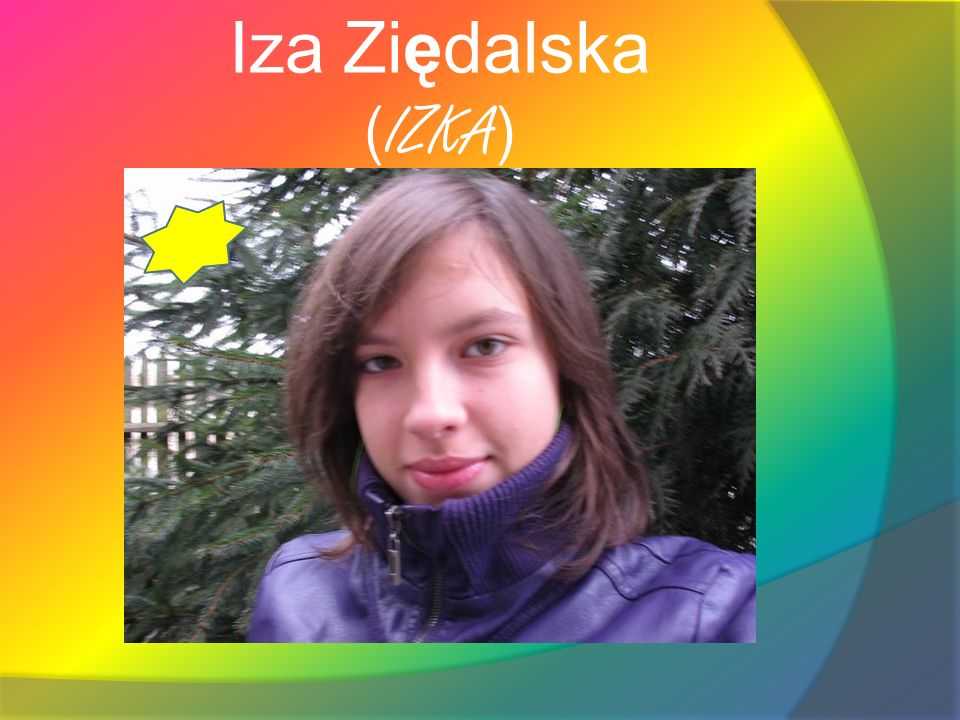 Iza Ziędalska (IZKA)