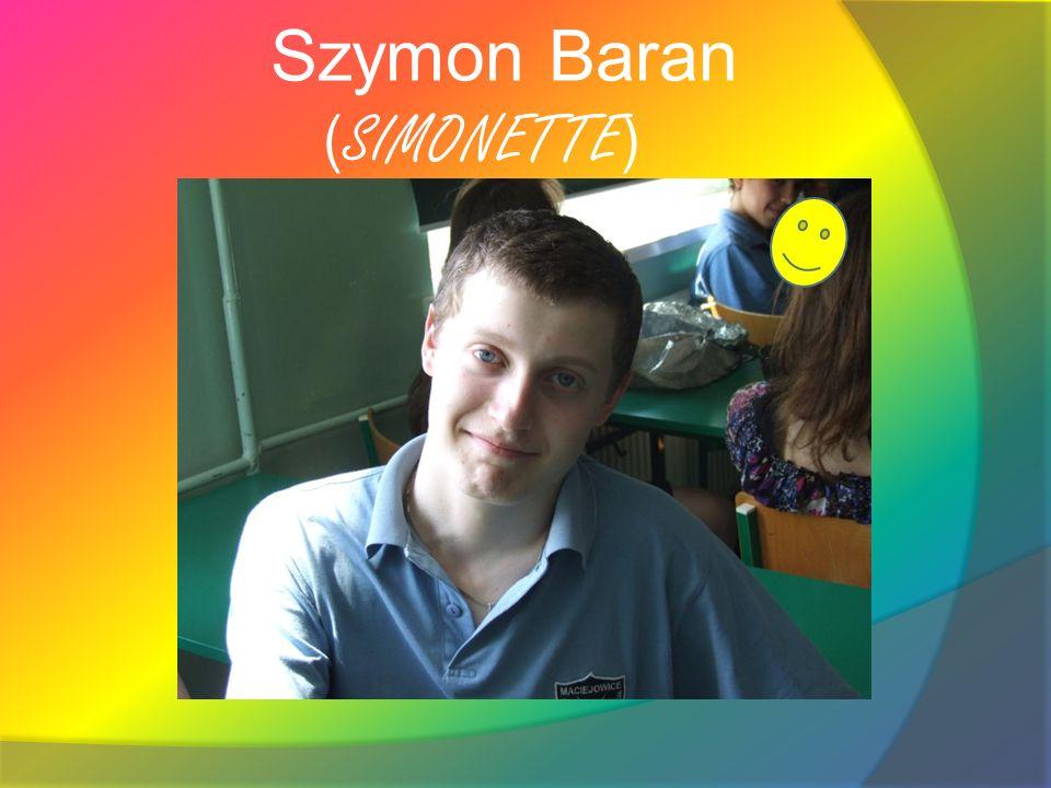 Szymon Baran (SIMONETTE)