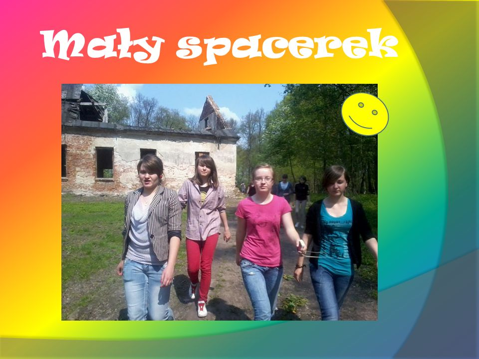 Mały spacerek
