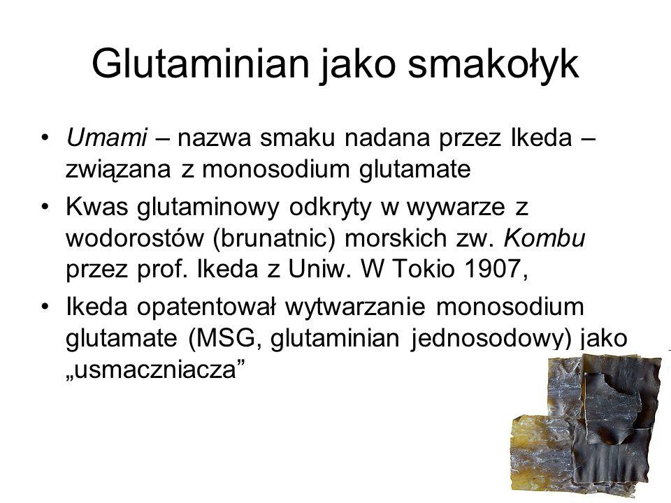 Glutaminian jako smakołyk
