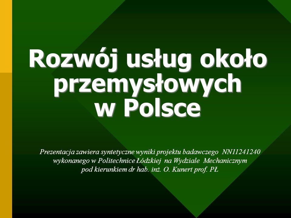 Rozwój usług około przemysłowych w Polsce