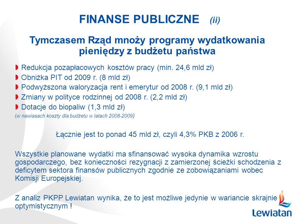 FINANSE PUBLICZNE (ii)