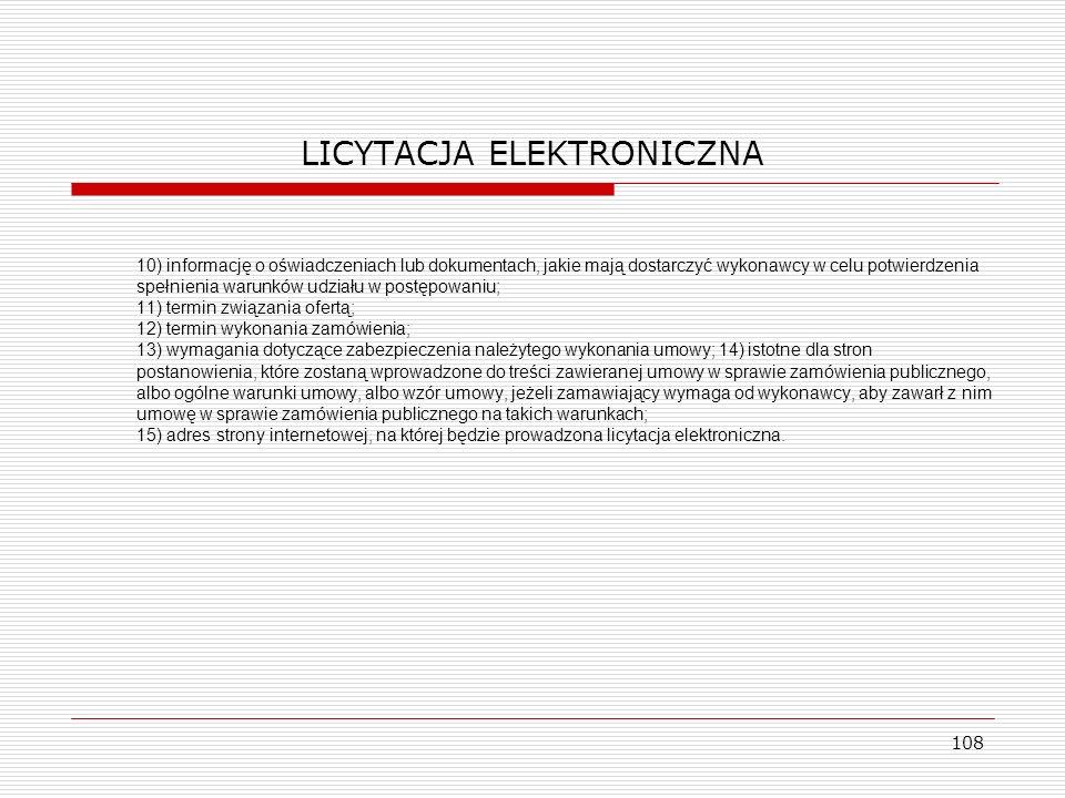 LICYTACJA ELEKTRONICZNA
