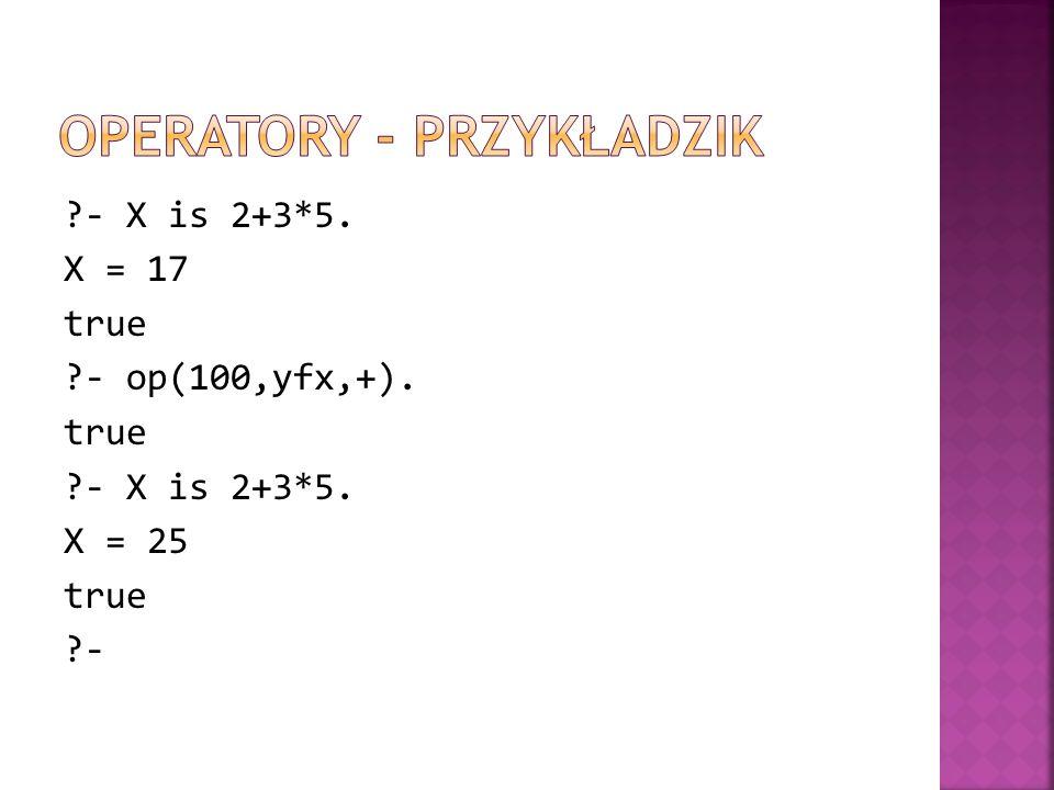 Operatory - Przykładzik