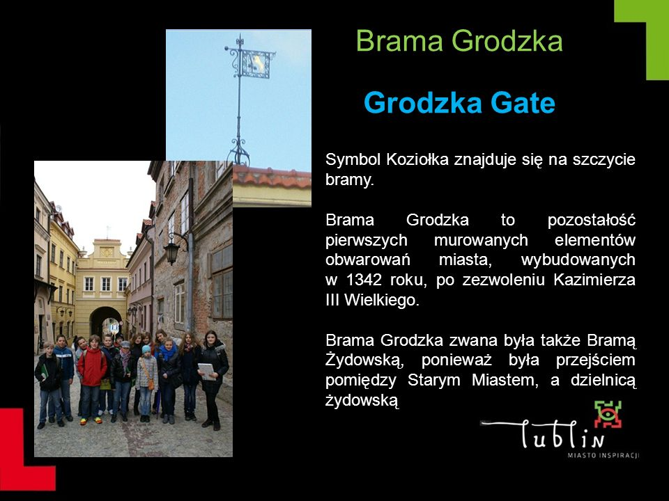Brama Grodzka Grodzka Gate