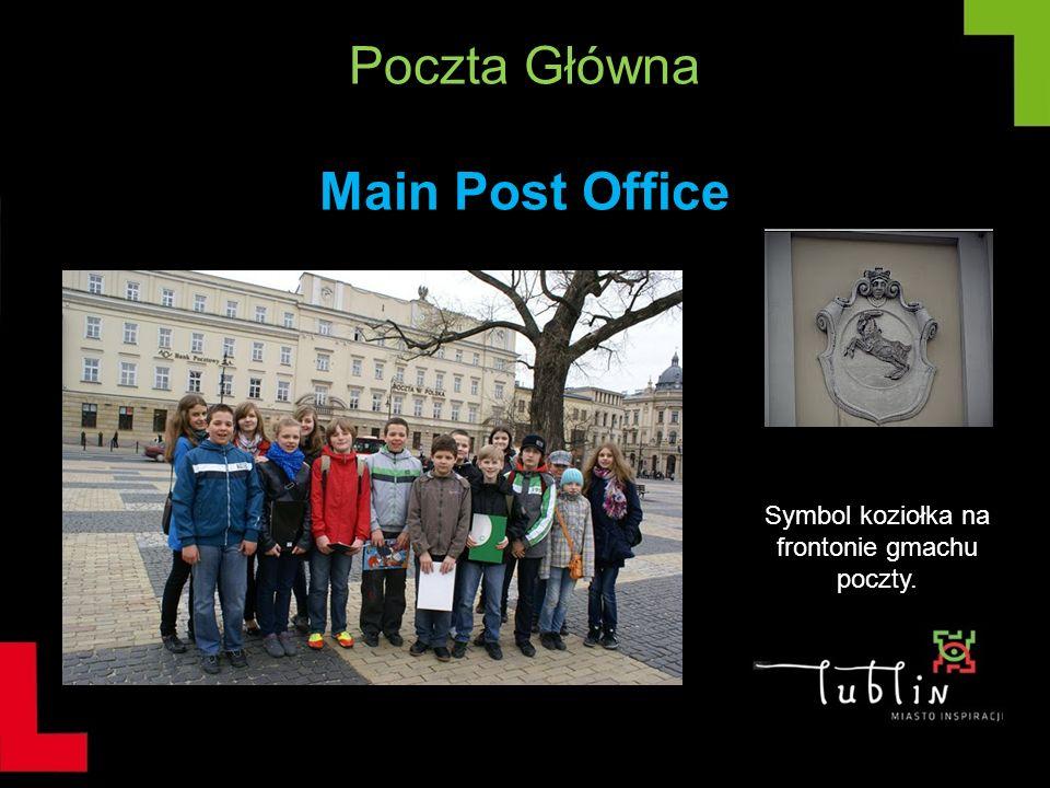 Poczta Główna Main Post Office