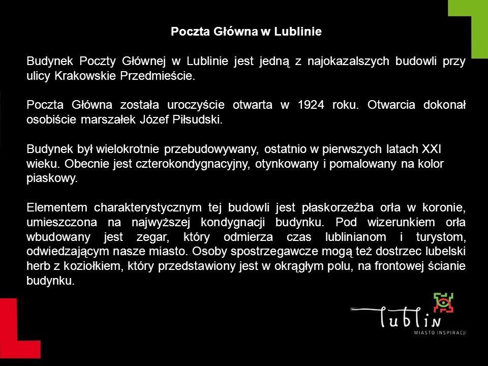 Poczta Główna w Lublinie