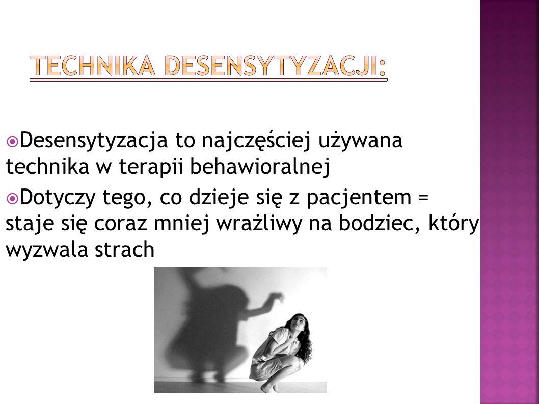 Technika desensytyzacji: