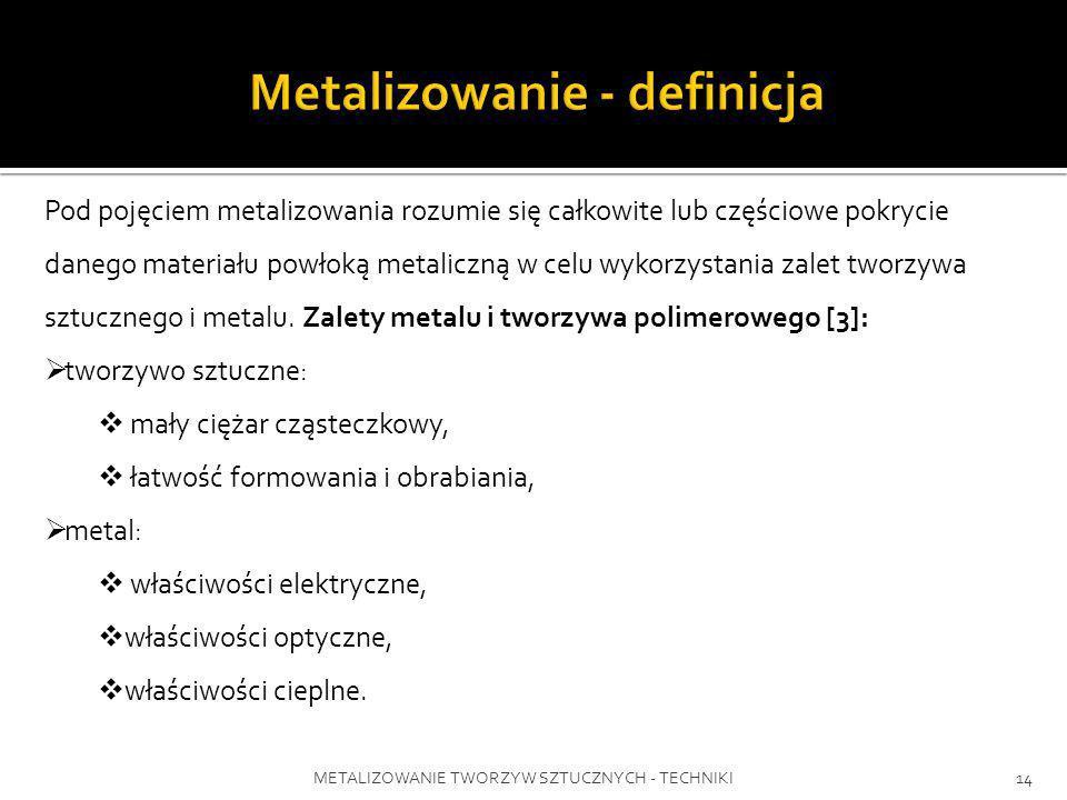 Metalizowanie - definicja