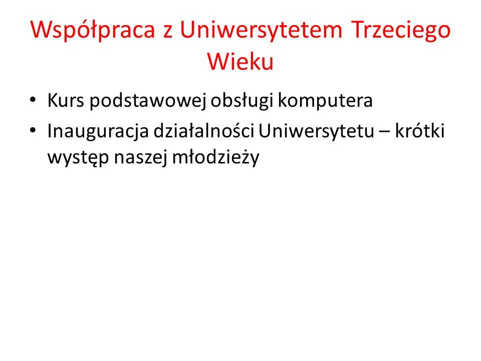 Współpraca z Uniwersytetem Trzeciego Wieku