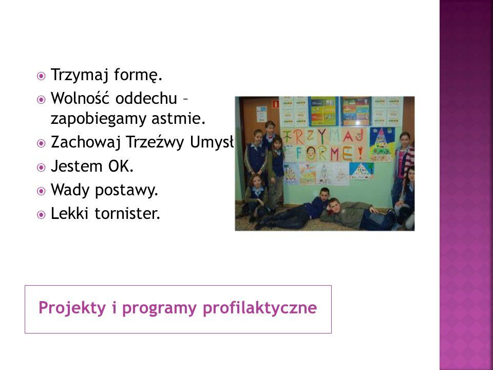 Projekty i programy profilaktyczne
