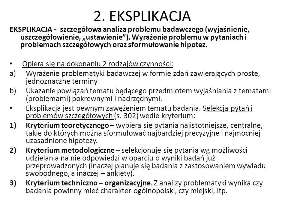 2. EKSPLIKACJA