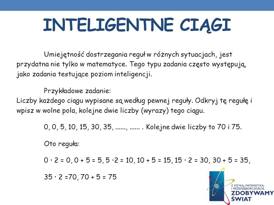 Inteligentne ciągi