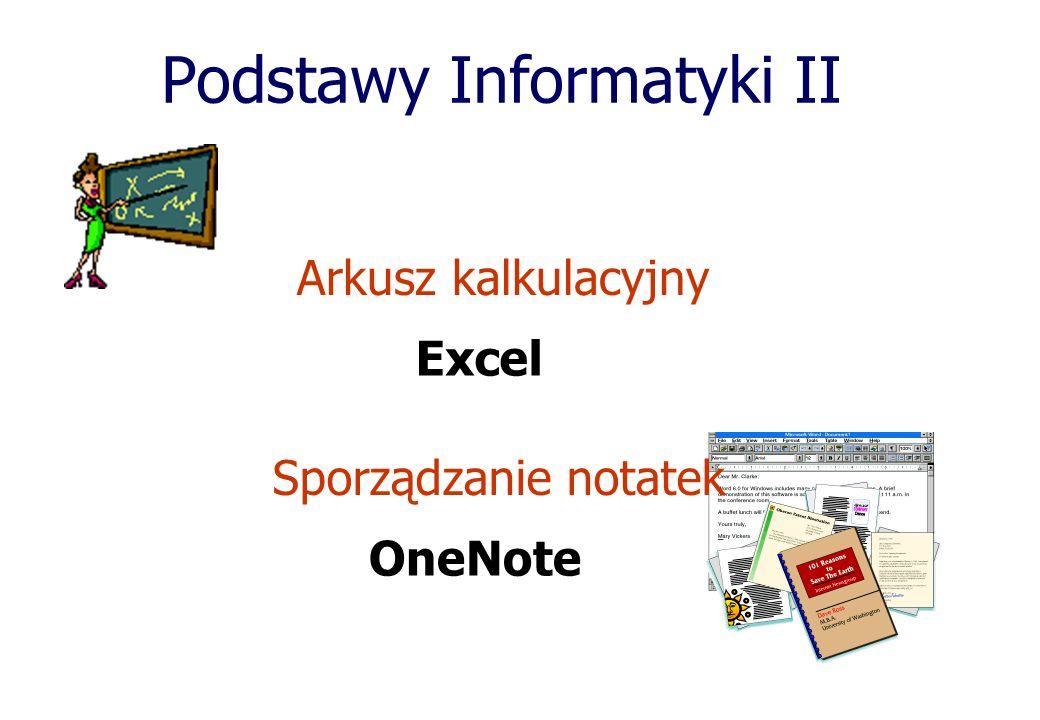 Podstawy Informatyki II