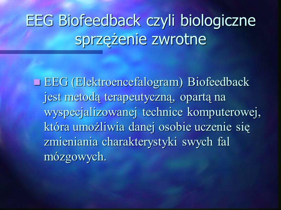 EEG Biofeedback czyli biologiczne sprzężenie zwrotne