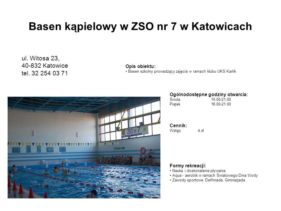 Basen kąpielowy w ZSO nr 7 w Katowicach