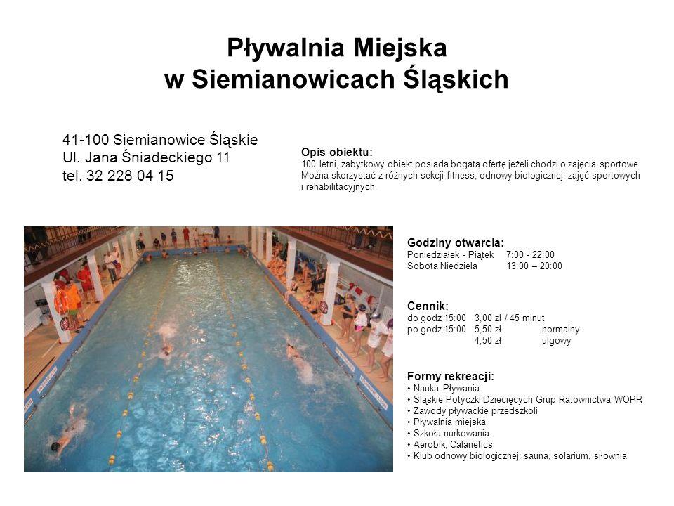 Pływalnia Miejska w Siemianowicach Śląskich