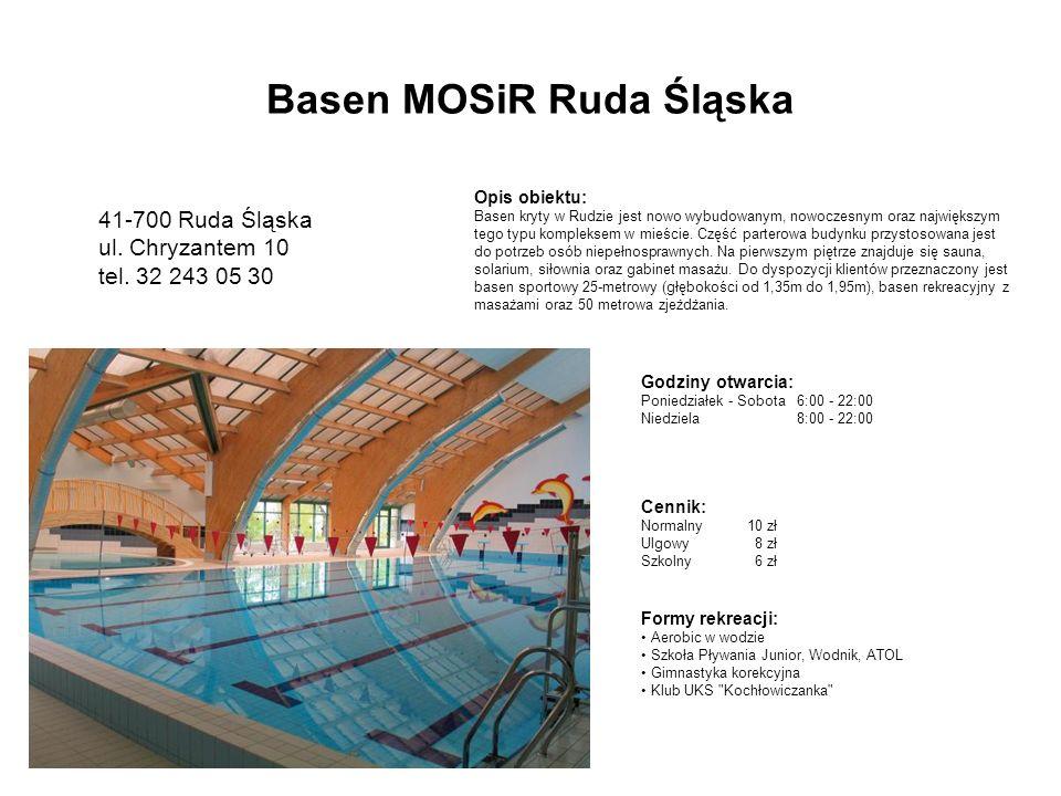 Basen MOSiR Ruda Śląska