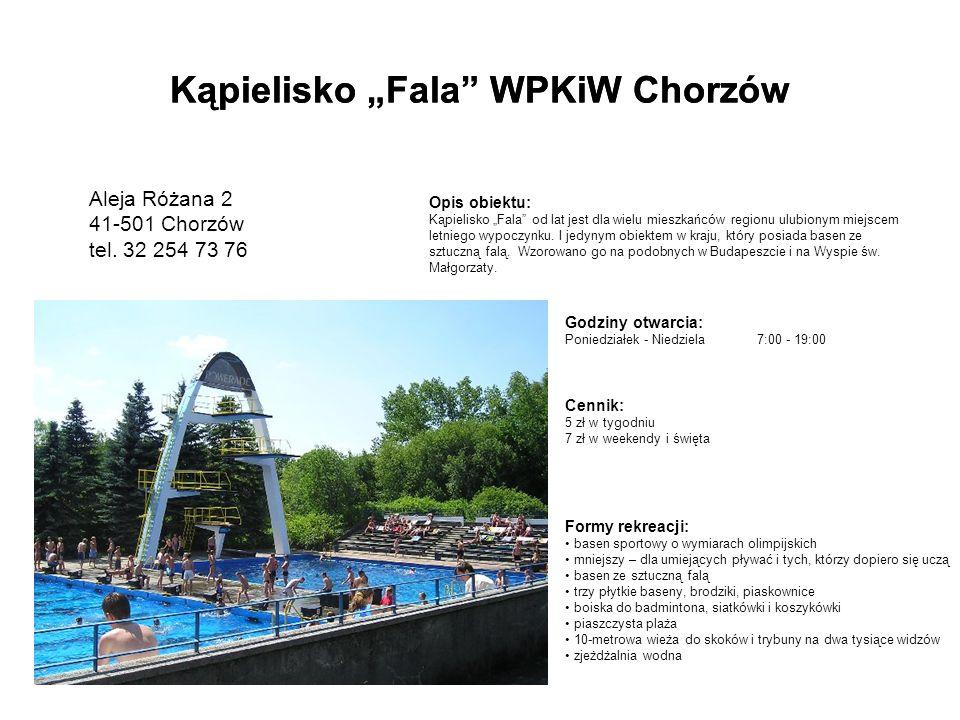 """Kąpielisko """"Fala WPKiW Chorzów"""