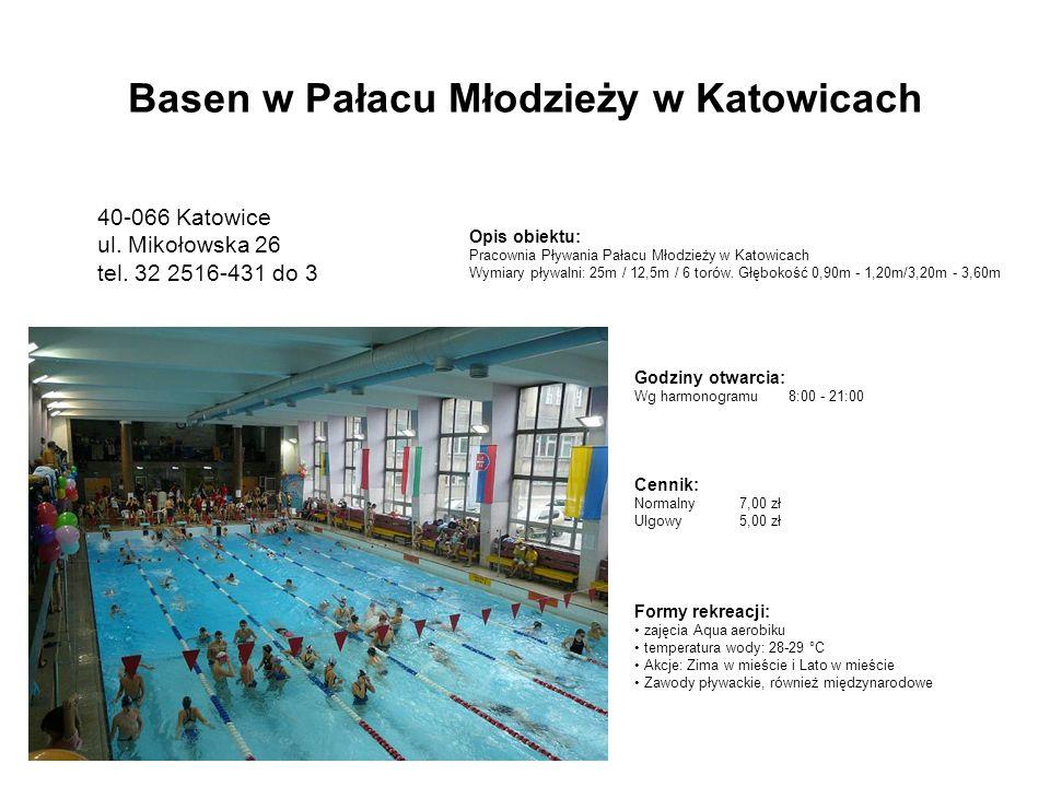 Basen w Pałacu Młodzieży w Katowicach