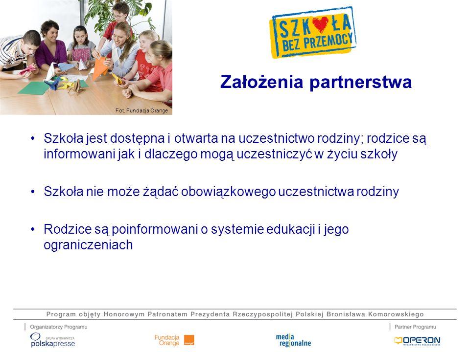 Założenia partnerstwa