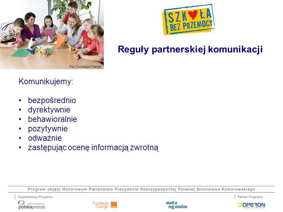 Reguły partnerskiej komunikacji
