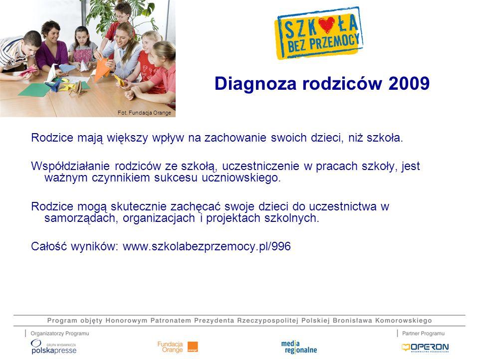 Diagnoza rodziców 2009
