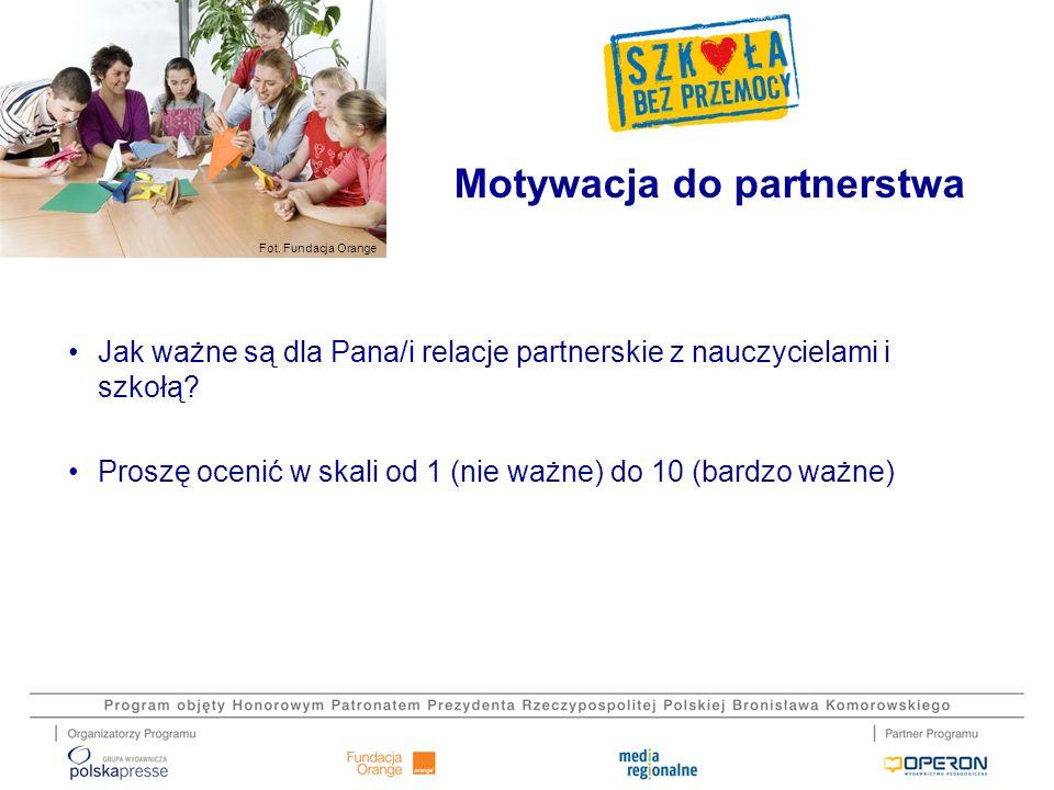 Motywacja do partnerstwa