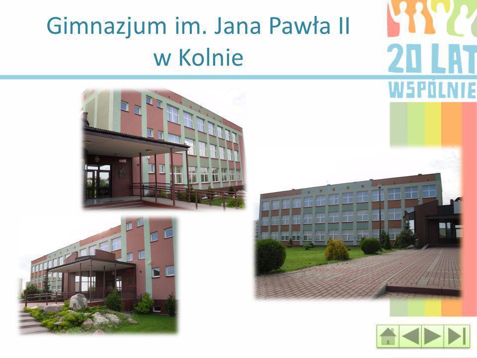 Gimnazjum im. Jana Pawła II w Kolnie