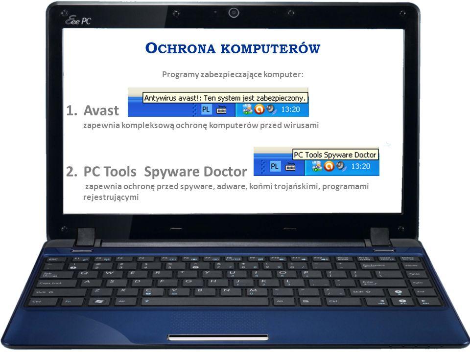 Programy zabezpieczające komputer: