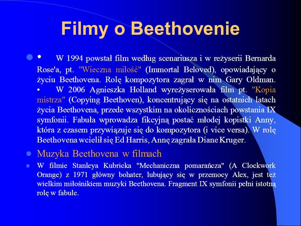 Filmy o Beethovenie