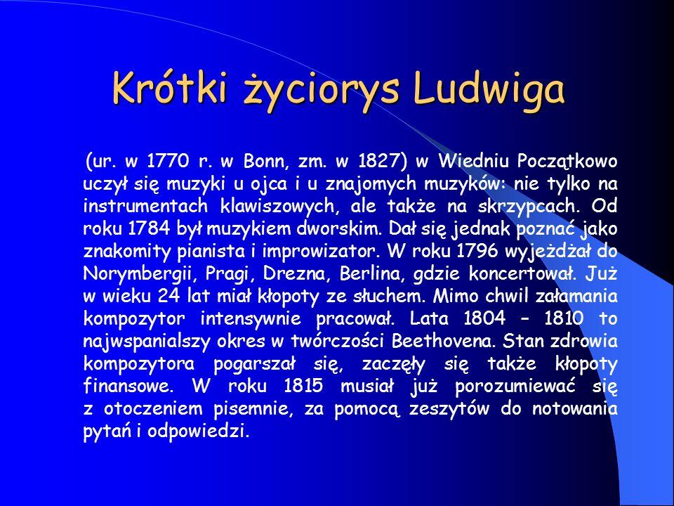 Krótki życiorys Ludwiga