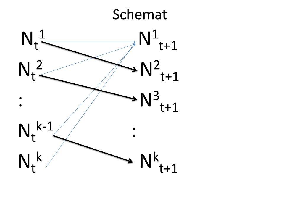 Schemat Nt1 N1t+1. Nt2 N2t+1. : N3t+1.