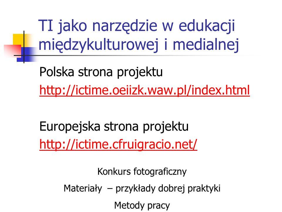 TI jako narzędzie w edukacji międzykulturowej i medialnej