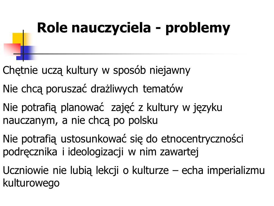 Role nauczyciela - problemy
