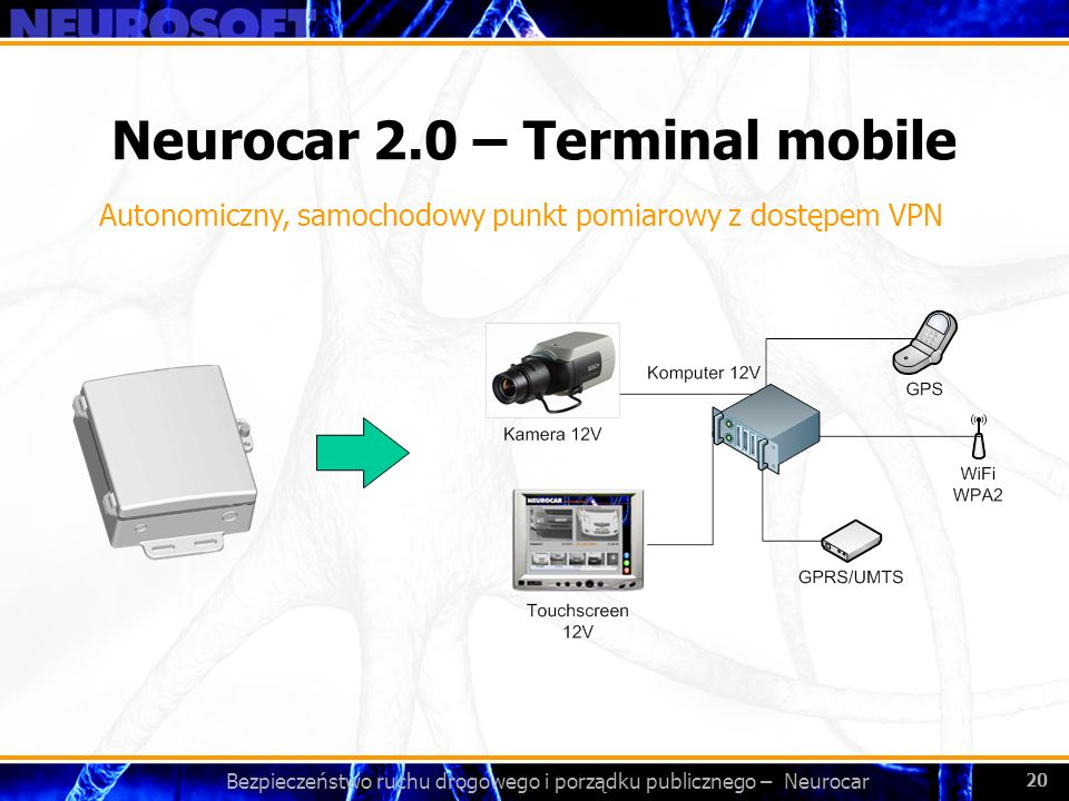 Neurocar 2.0 – Terminal mobile