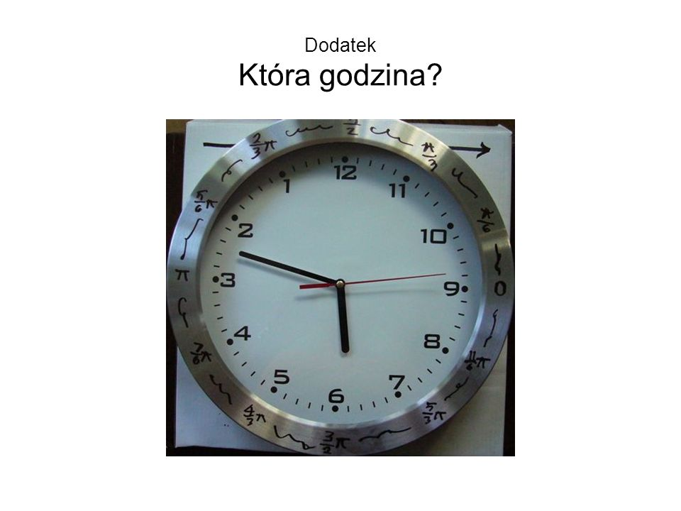 Dodatek Która godzina