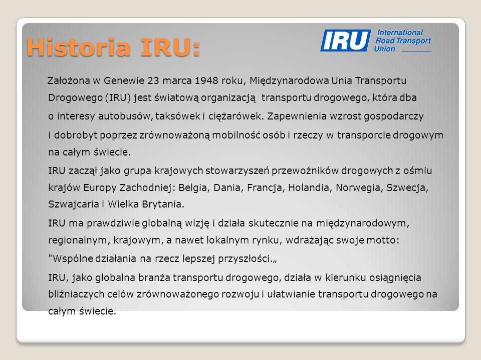 Historia IRU: